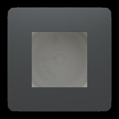 Дымчато-серый/белый
