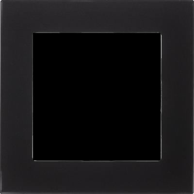 Матовое стекло черный