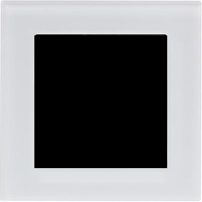 Матовое стекло белый